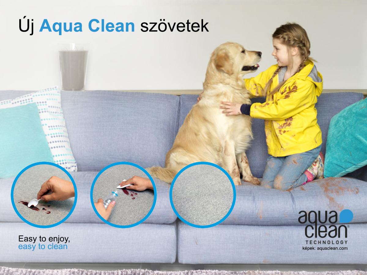 Aqua Clean szövetek